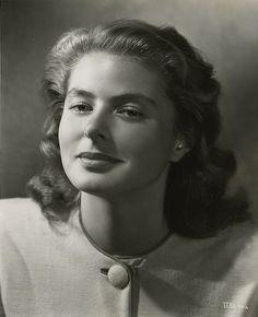 Ingrid Bergman: Hollywood Glamour Lady.