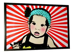 Jude the Flower Pop Art Rendering by Tasia-Vu Designs. www.tasia-vu-designs.com
