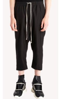 Rick Owens Drop-crotch Knee-length Shorts