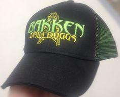 Bakken DrillDoggs hat by Mosaic Threads.