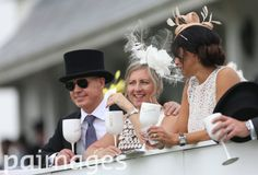 Racegoers during Derby Day of the 2016 Investec Epsom Derby Festival at Epsom Racecourse, Epsom. Epsom Derby, Sports Pictures
