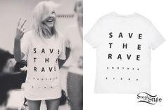 Ellie Goulding: 'Save The Rave' T-Shirt