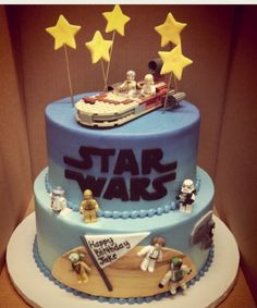 Enjoy this STAR WARS CAKES gallery album you will see numerous at last count) pictures that you can discover, discuss & give your opinion on. Plus upload and share your own Star Wars Cakes pics in addition to rating the photos & posting comments. Star Wars Cookies, Star Wars Cake, Star Wars Gifts, Star Wars Party, Star Wars Birthday Cake, 4th Birthday Cakes, Birthday Ideas, Happy Birthday, Birthday Nails