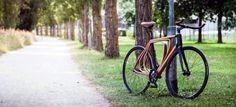 Wooden you want a bike like that?!