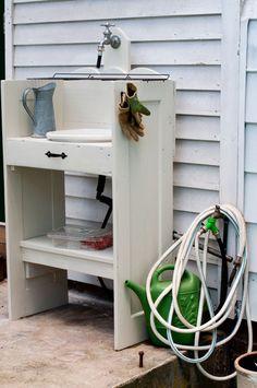 outdoor sink - DIY