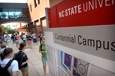 NC State-Eastman relationship blazes new trail: NCSU has entered into a unique partnership with Eastman Chemical Co., which opened quarters on Centennial Campus recently. The partnership is unique: the company retains more control over intellectual rights from revenue-generating research conducted at the Eastman Innovation Center and in return, Eastman pledged $ 10M in research funding to NCSU. |  http://www.bizjournals.com/triangle/blog/2013/04/nc-state-eastman-relationship-blazes.html