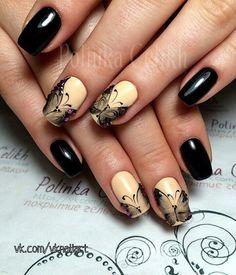 Image about ohlala in ○Fashionable Nails○ by Anna Galstyan Spring Nail Art, Spring Nails, Butterfly Nail, Acrylic Nail Art, Types Of Nails, Flower Nails, Stylish Nails, Hand Designs, Nail Arts
