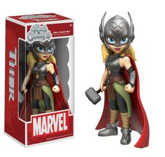 Marvel Lady Thor Rock Candy figure by Funko