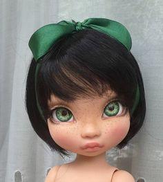 Tiny Dolls, Ooak Dolls, Blythe Dolls, Art Dolls, Doll Face Paint, Doll Painting, Newberry Dolls, Dolly Doll, Disney Animator Doll