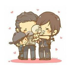 Walking dead chibi