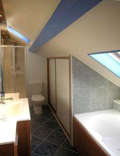 r sultat de recherche d 39 images pour plan salle de bain mansard e sdb sous toitures. Black Bedroom Furniture Sets. Home Design Ideas