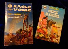COCHISE OF ARIZONA - La Farge (56) / EAGLE VOICE Neihardt (56) Pback