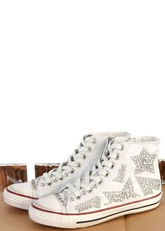 High Sneaker Vibration Nappa weiss: ASH, Italy