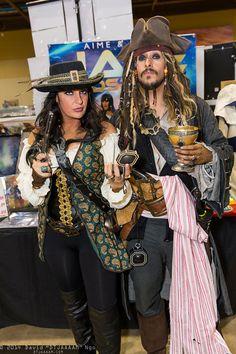 Angelica Teach And Captain Jack Sparrow
