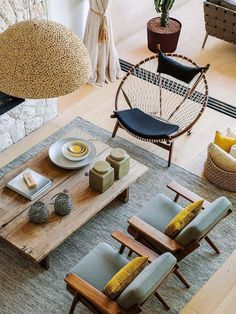 living room with mix of styles 2