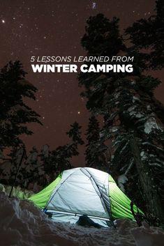 Consejos invierno Camping