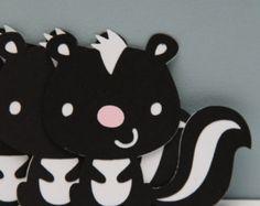 Woodland Animals-Set of 8 by CraftingCrew on Etsy