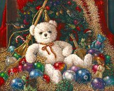 The Christmas bear by Janet Kruskamp