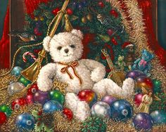 The Christmas bear by Janet Kruskamp