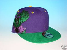 999368190b6 Avengers New Era Marvel Comics 59Fifty Incredible Hulk Hat Size 7 1 2  Fitted Marvel