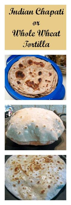 Indian Chapati is an Indian laden Bread recipe made with whole wheat flour. It's much healthier, delicious and easy to make with no special skill or gadgets needed