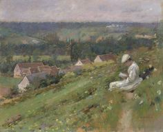 Theodore Robinson (1852-1896), The Valley of Arconville - 1887