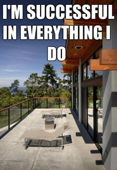 Positive affirmation quotes: I'm successful in everything I do. Follow me on twitter @imons2 for more daily positive quotes