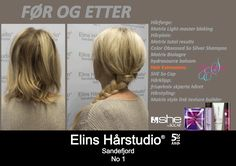 Hårforlengelse hair extensions blond flette