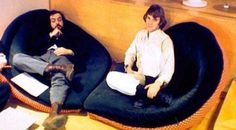 Stanley Kubrick and Malcolm McDowell | Rare, weird & awesome celebrity photos