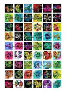 Digital collage sheet 1x1 digital collage sheets by graphicland, $2.99