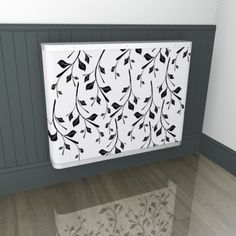 Take a leaf out of our book and opt for this black and white leaf design