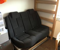 a month before school started I thought it would be neat to have some old car seats as my dorm furniture instead of the crappy futons that everyone el...