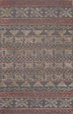 Jaipur Living Stitched STI03 Gray/Silver Tribal Area Rug