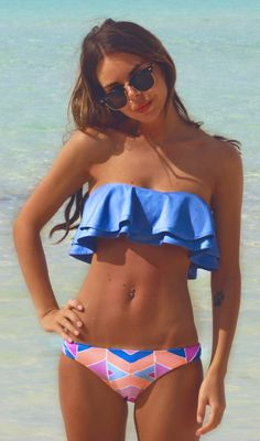cute bathing suit and good inspiration!
