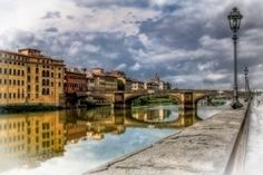 Almost dreamlike - the Arno River by Carol Japp. More photos by this great photographer on the website. You will be stunned by the awesome ones of Venice.