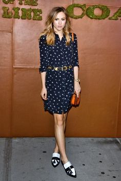 Suki Waterhouse in Coach | Coach and Friends of the High Line Summer Party, New York - June 23 2015