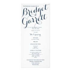 121 best wedding program rack cards images on pinterest coding