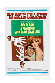 How to Save a Marriage and Ruin Your Life, 1968 Posters AllPosters.fi-sivustossa