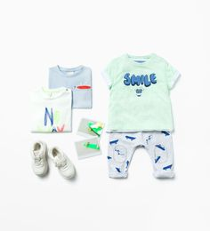 I love dressing my boy in colorful clothing like these from Zara!