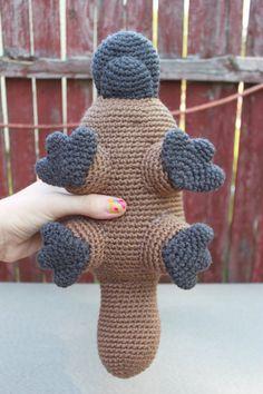 Crochet Pattern Platypus Amigurumi PDF Instant by MilesofCrochet