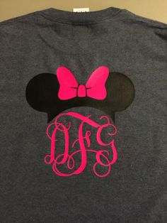 Disney Monogram Shirts by SimplySouthernMom on Etsy