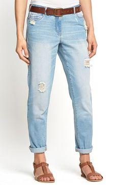 Mega seje South Jeans Mellembl? fra Halens South Underdele til Dame til enhver anledning