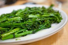 Pan-Roasted Broccolette with Garlic and Red Pepper Flakes Yield: 2 servings 1 large bunch broccolette, rinsed 1 tablespoon Extra virgin olive oil ¼ teaspoon Kosher salt Freshly ground black pepper, […] Garlic Recipes, Vegetable Recipes, Thanksgiving Vegetables, Clean Eating, Healthy Eating, Cooking Recipes, Healthy Recipes, Healthy Appetizers