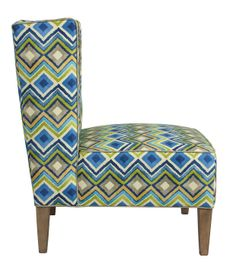 "Our Jessie chair is sporting ""Like a Diamond"" this spring launch!"