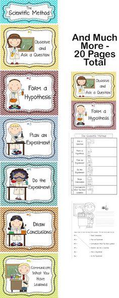 Scientific Method Steps, Examples  Worksheet - Zoey And Sassafras - scientific method worksheet