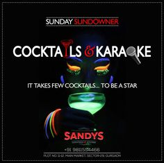 Express yourself. Sing your heart out. Dance your pants off.Take a selfie while doing all this. Because that is how to party at Sandys Cocktails & Kitchen... Everyone in the house get 20% on all cocktails... #sundaysundowner #cocktailsandkaraoke #karaoke #cocktails
