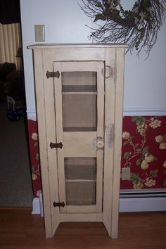 Primitive Jelly Cabinet | Primitive Jelly Cupboard   By Joetroba @  LumberJocks.com ~ Woodworking