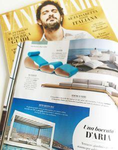 Pergola Self, editoriale nel numero speciale di VANITY FAIR Collection design - Aprile 2016