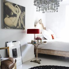 Bedroom | Decorating inspiration | Laura Santtini | House tour | PHOTO GALLERY | Housetohome.co.uk