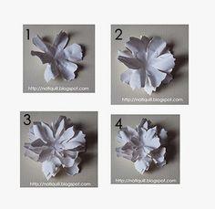 """Olá a Todos!!  Com essa """"Tattered Florals Die"""", voce faz lindas flores de papel, tutorial  abaixo;   Materiais usados :  Cola  Tesoura  Ca..."""